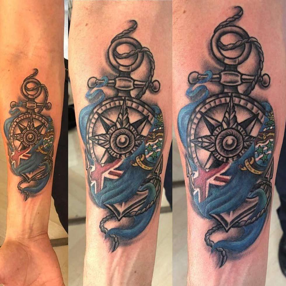 CAZ Body tattoo