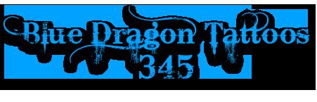 Blue Dragon Tattoos 345