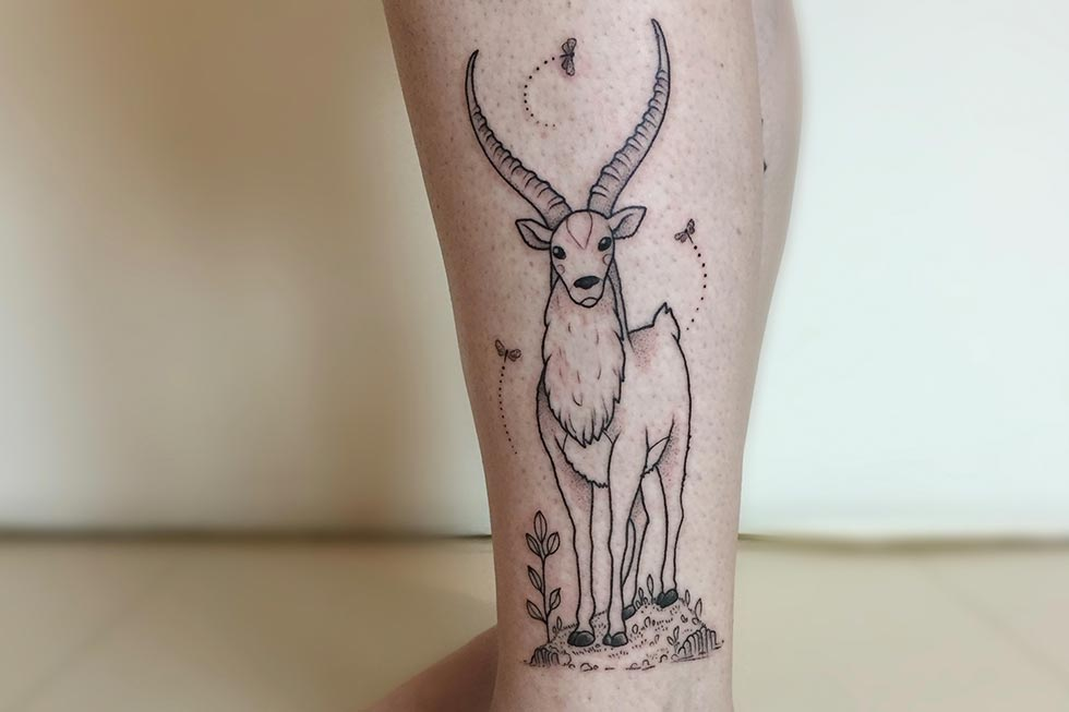 Sahanna Body tattoo