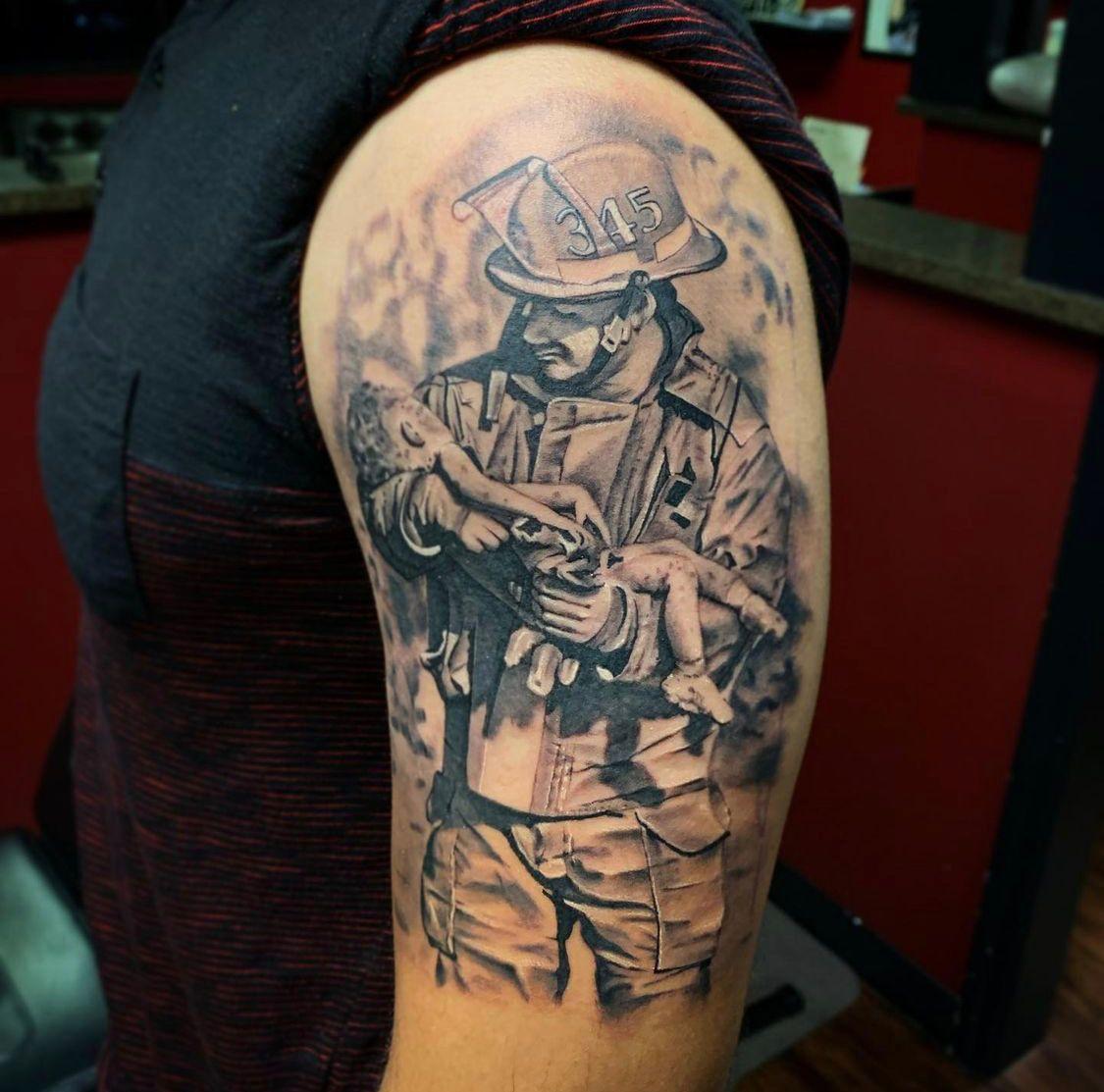 Raul Hand tattoo